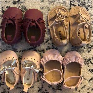 Newborn and 3-6 shoe bundle